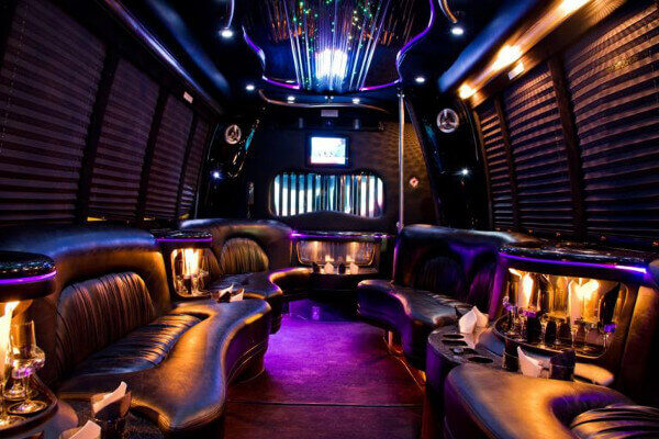 15 Person Party Bus Rental Fort Lauderdale