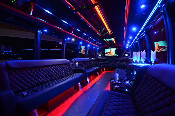 40 Person Party Bus Rental Fort Lauderdale