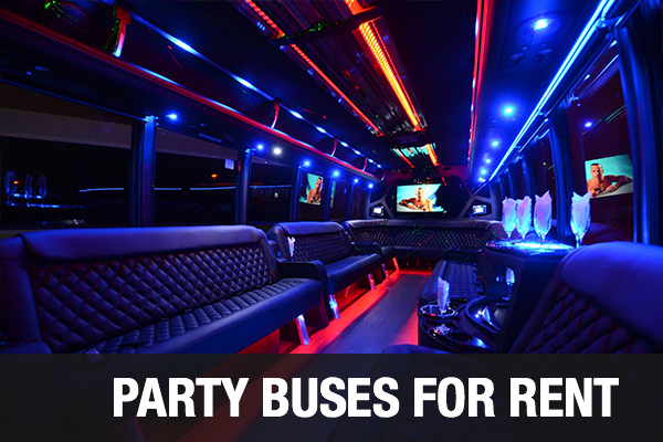 Party Buses For Rent Fort Lauderdale